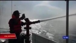 Truyền hình VOA 4/7/18: Biển Đông: Cảnh sát biển VN được trang bị pháo 23 ly