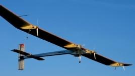 Avion krejtësisht me energji diellore