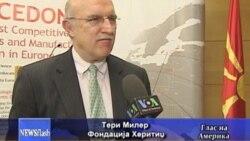 Бизнис форум во Вашингтон за инвестициите во Македонија