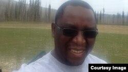 Mthokozisi Ndlovu, a Zimbabwean living in Canada, affected by a raging inferno. (Photo: Courtesy Image)