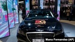 Автомобіль керований на основі технологій 5G, Іспанія, 2018