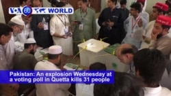 VOA60 World PM - Violence-Hit Pakistan Polls Close, Vote Count Underway