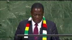 Mnangagwa Addressing United Nations Security Council