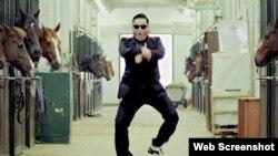 "Video spot za pesmu ""Gangnam Style"""