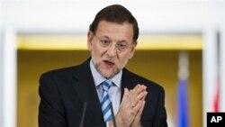 마리아노 라호이 스페인 총리 (자료사진).