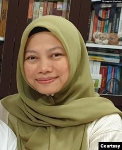 Anggota Dewan Pembina Perludem Titi Anggraini. (Dokumentasi: Titi)