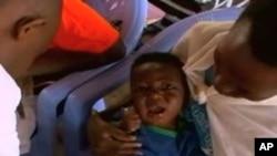 一卢旺达儿童接种疫苗