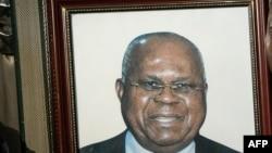 Portrait de l'ex-opposant et ex-Premier ministre Etienne Tshisekedi, décédé à l'âge de 84 ans le 1er février 2017 à Bruxelles
