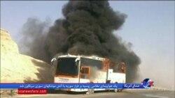 تصادف جاده کاشان نطنز با ۲۱ کشته + فیلم
