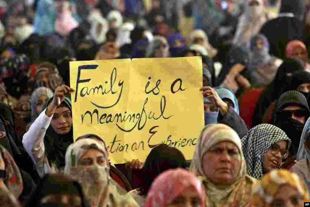 یوم حیا کے موقع پر پاکستان کے سب سے بڑے شہر کراچی میں بھی 'یوم حیا' ریلی کا اہتمام کیا گیا۔