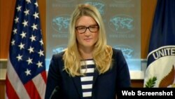 Juru bicara Deplu AS, Marie Harf mengatakan Amerika tidak melihat ada kemajuan soal Suriah karena Rusia menentang tindakan apapun (foto: dok).
