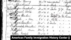 З архівів American Family Immigration History Center