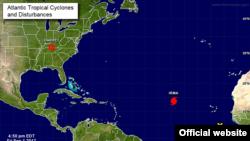 Ураган «Ірма» в Атлантичному океані