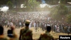 manifestações, Etiópia, 2016