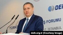 Rustam Azimov O'zbek-Turk biznes forumida, Istanbul, Turkiya