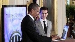 باراک اوباما ميزبان جلسه «توييتر» پيرامون اقتصاد