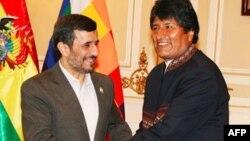 Махмуд Ахмадинежад и Эво Моралес