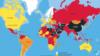 新聞自由度排名指數 中國倒數第5