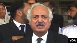 سابق وزیر قانون اور انسانی حقوق کے علمبردار اقبال حیدر