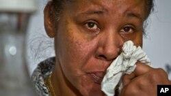 Iso Snajps, supruga ubijenog Erika Garnera (arhiva)