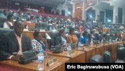 Le parlement rwandais, 15 octobre 2015.