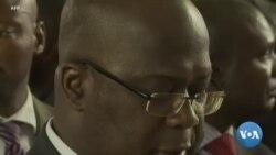 Félix Tshisekedi participe à une messe en mémoire de son père
