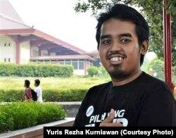 Yuris Rezha Kurniawan, peneliti dari Pusat Studi Anti (Pukat) Korupsi, Universitas Gadjah Mada, Yogyakarta. (Foto: dokumen pribadi)