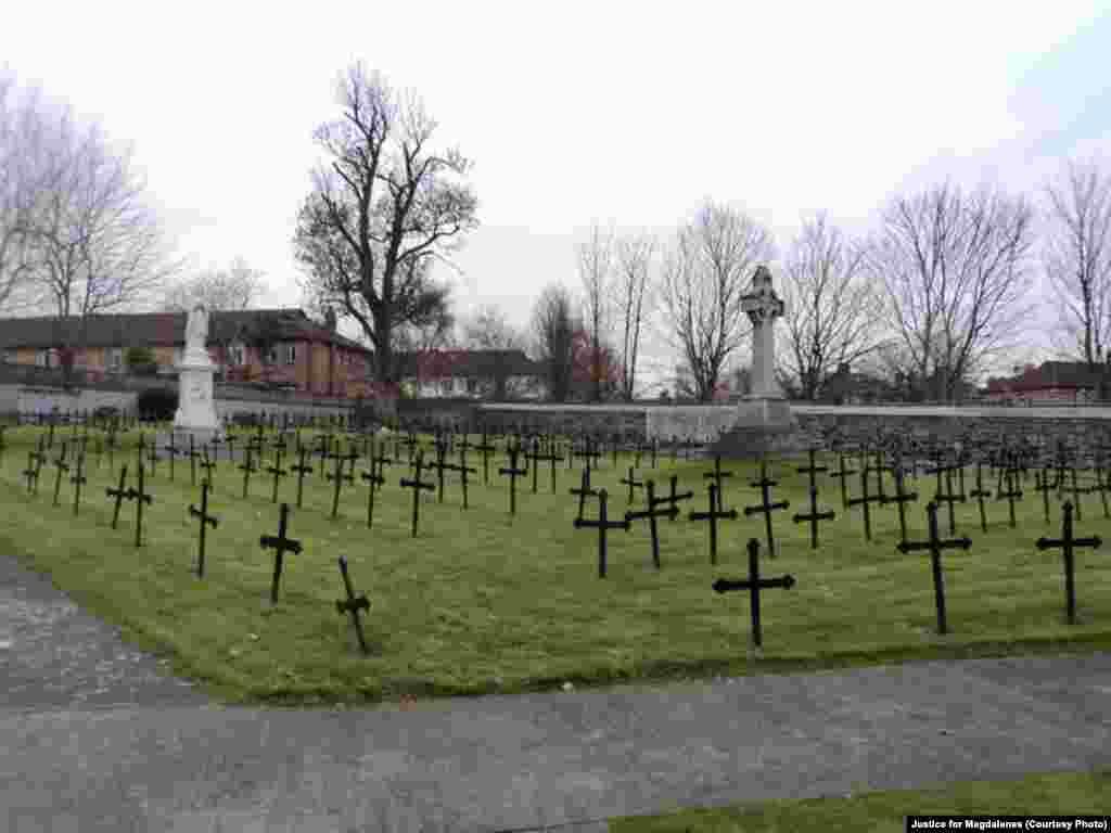 Kompleks tempat mantan penghuni Binatu Magdalena dimakamkan di Dublin, Irlandia.