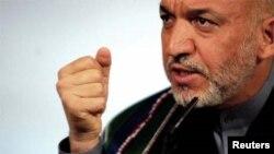 حامد کرزی رئیس جمهور افغانستان