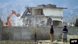Дом в Абботабаде, где в течение шести лет проживал террорист