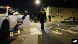 Mesto napada u Filadelfiji