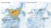 Smanjenje zagađenja iznad Kine, kao posljedica vanrednih mjera protiv virusa