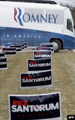 Saylov-2012: Arizona va Michigan respublikachilari Mitt Romnini tanladi