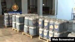Gürcüstanda tutulan heroin çəlləkləri