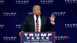 2016-09-23 美國之音視頻新聞: 川普和希拉里克林頓呼籲立即結束街頭暴力