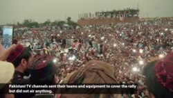 Pakistan Media Under Fire for Not Covering Pashtun Rally