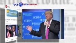 VOA60 Elections - CNN: Media has begun to move toward Trump as the Republican favorite for the nomination