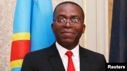 Le Premier ministre congolais Augustin Matata Ponyo lors d'une réunion avec son homologue belge à Bruxelles, Belgique, le 24 juin 2014.