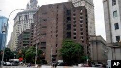 نیو یارک کی ایک کوریکشن جیل (فائل)