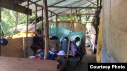 Ilustrasi - Warga korban penggusuran di tenda-tenda. (Foto: YLBHI)