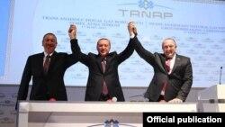 Azərbaycan, Türkiyə və Gürcüstan prezidentləri