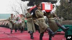 سال گذشته بیش از ۵۵۰۰ نظامی افغان در جنگ کشته شد.