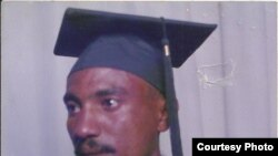 Journalist Amanuel Asrat, seen in this undated graduation photo, has been detained in Eritrea since September 2001. (Photo courtesy of family)