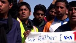 Pakistani Migrants Protest Deportations