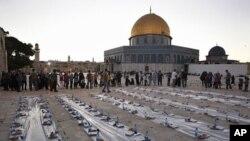 وضع محدودیت های تازه از سوی اسراییل بر فلسطینی ها در ماه رمضان