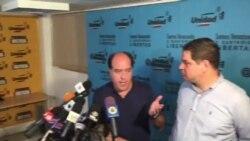 Venezuela MUD opina sobre intento de diálogo con el gobierno