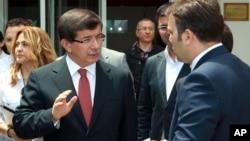 احمد داوداوغلو، وزیر خارجه ترکیه