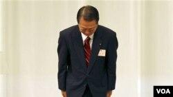Mantan pemimpin Partai Demokrat Jepang (DPJ), Ichiro Ozawa.