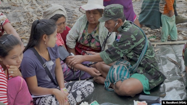 Saw Shwe Maung Has Been A Front Line Karen National Liberation Army Medic For 10