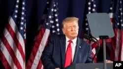 အေမရိကန္သမၼတ Donald Trump. (ဇူလုိင္ ၃၊ ၂၀၂၀)